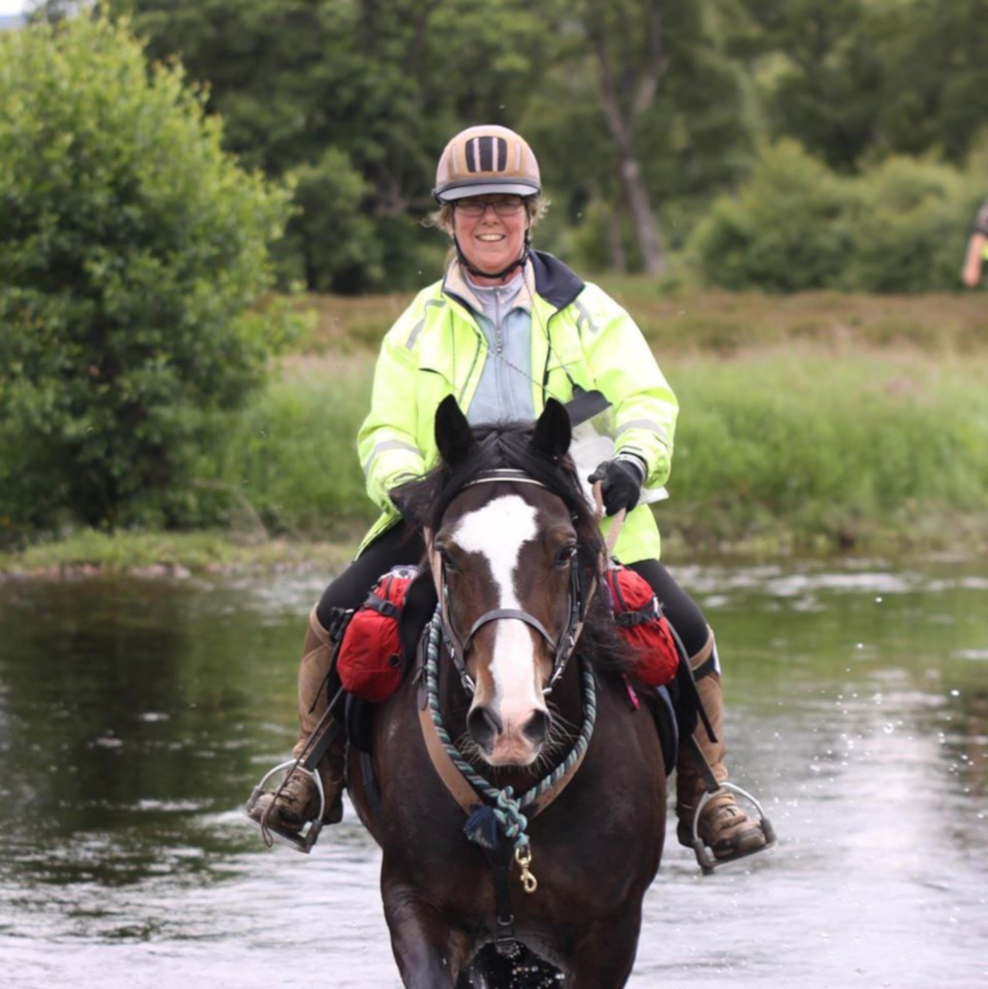 Senior Riders – Sheila Watson
